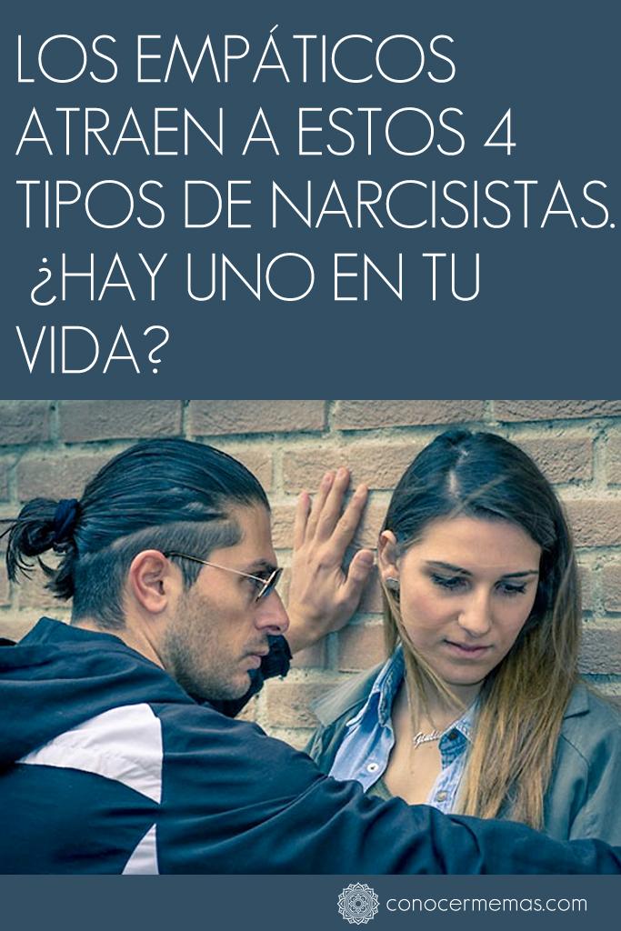 Los empáticos atraen a estos 4 tipos de narcisistas. ¿Hay uno en tu vida?