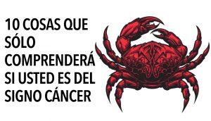 10 cosas que sólo comprenderá si eres del signo cáncer