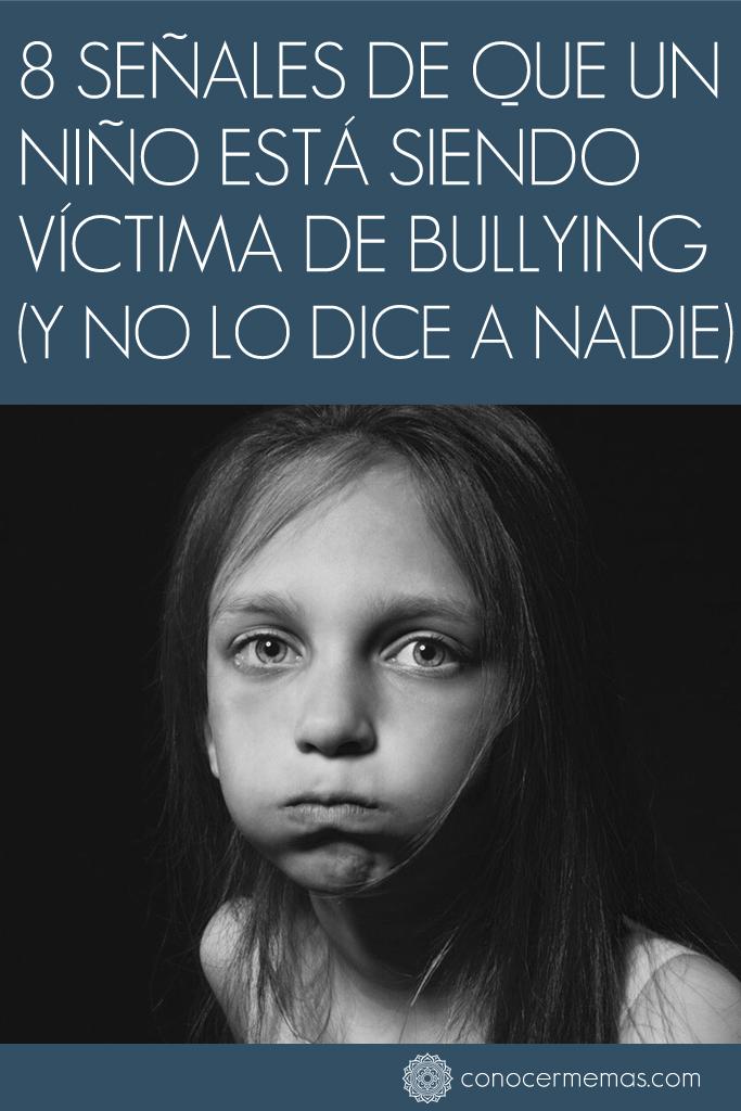 8 señales de que un niño está siendo víctima de bullying (Y no lo dice a nadie)