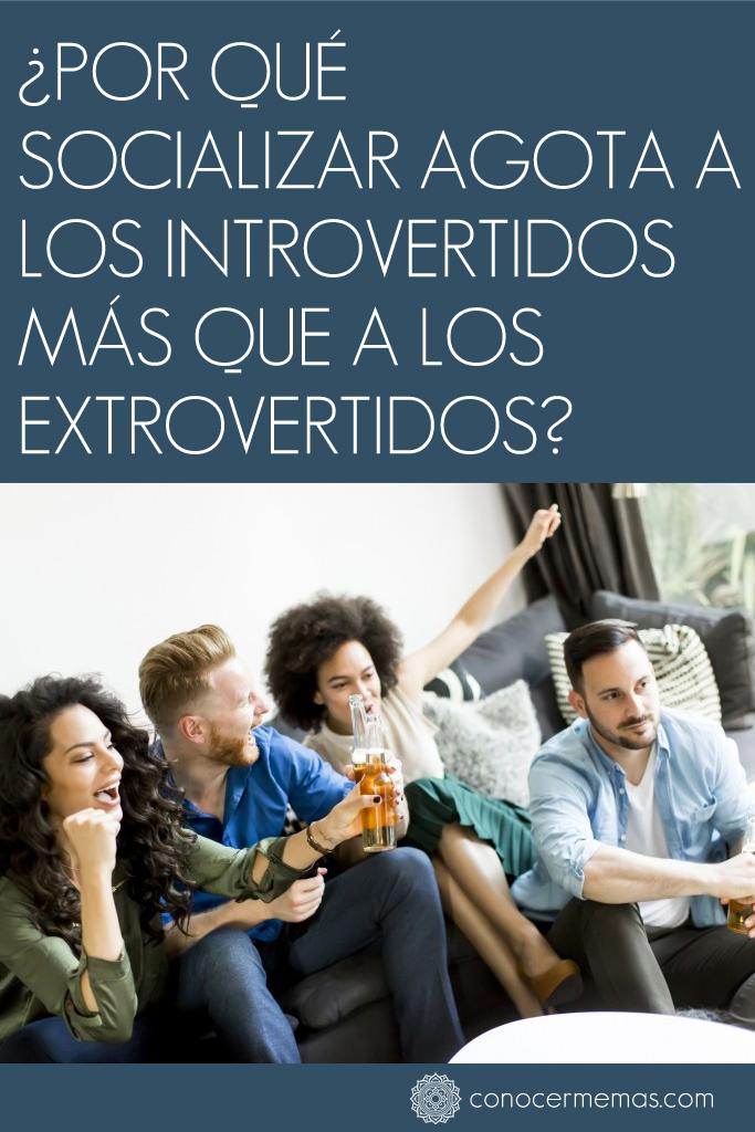 ¿Por qué socializar agota a los introvertidos más que a los extrovertidos?