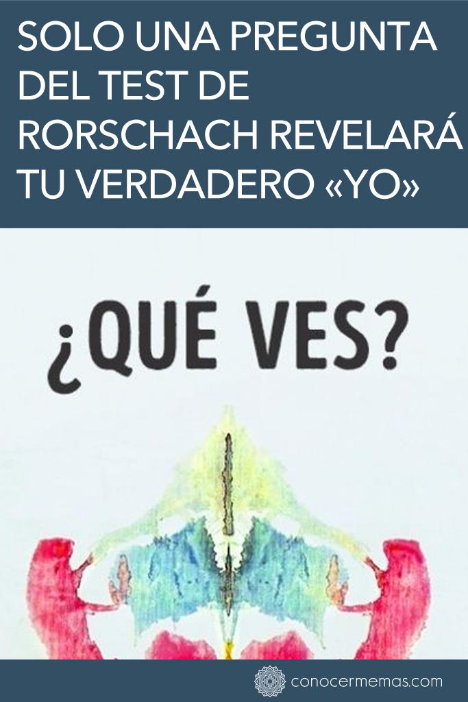 Solo una pregunta del test de Rorschach revelará tu verdadero «yo» 1