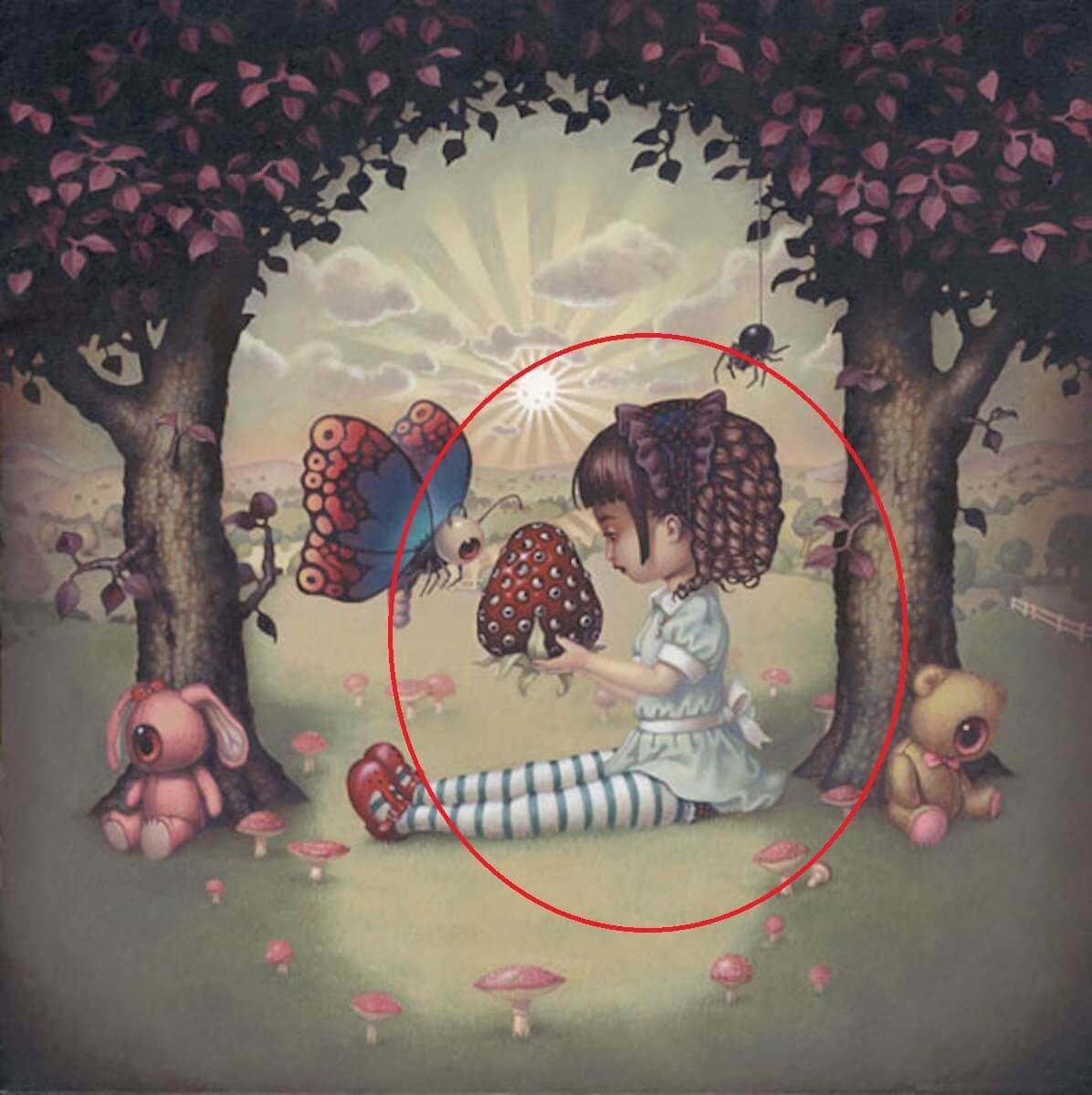 ¿Qué es lo primero que has visto en esta imagen? Responde y comprueba cuál es tu miedo oculto 3