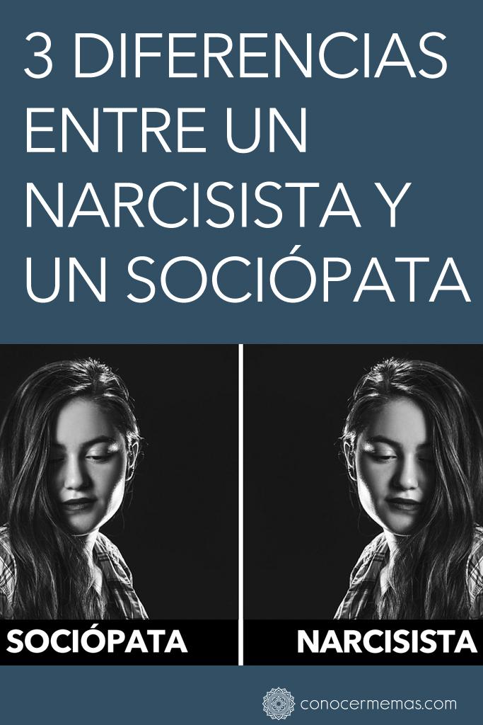 3 Diferencias entre un narcisista y un sociópata