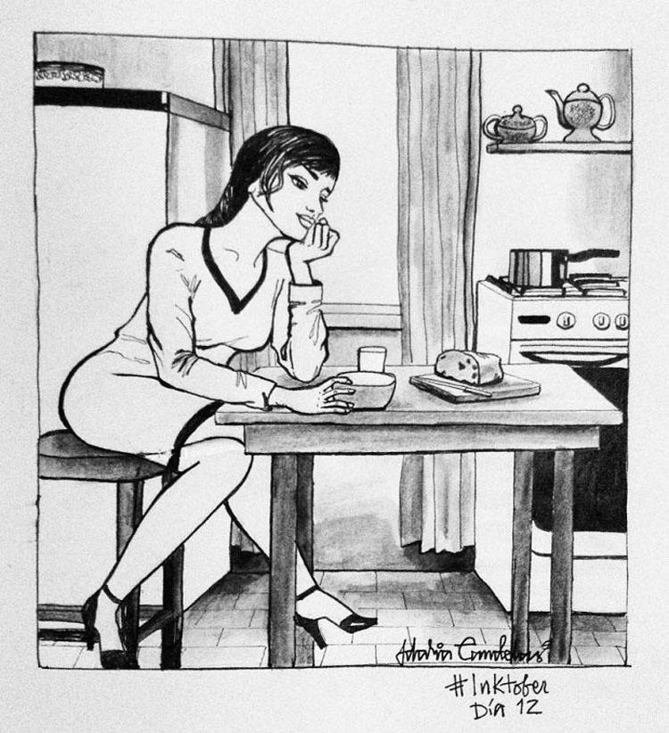 10 ilustraciones que muestran por qué vivir solo es lo mejor 9