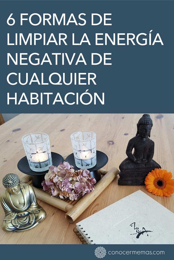 6 formas de limpiar la energía negativa de cualquier habitación