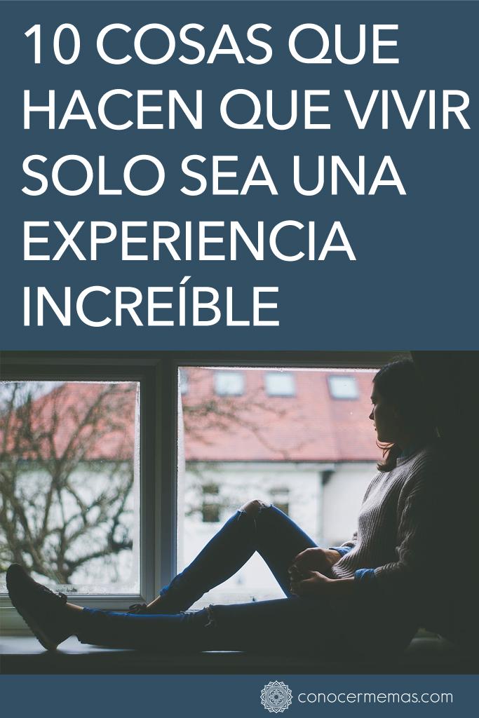 10 cosas que hacen que vivir solo sea una experiencia increíble