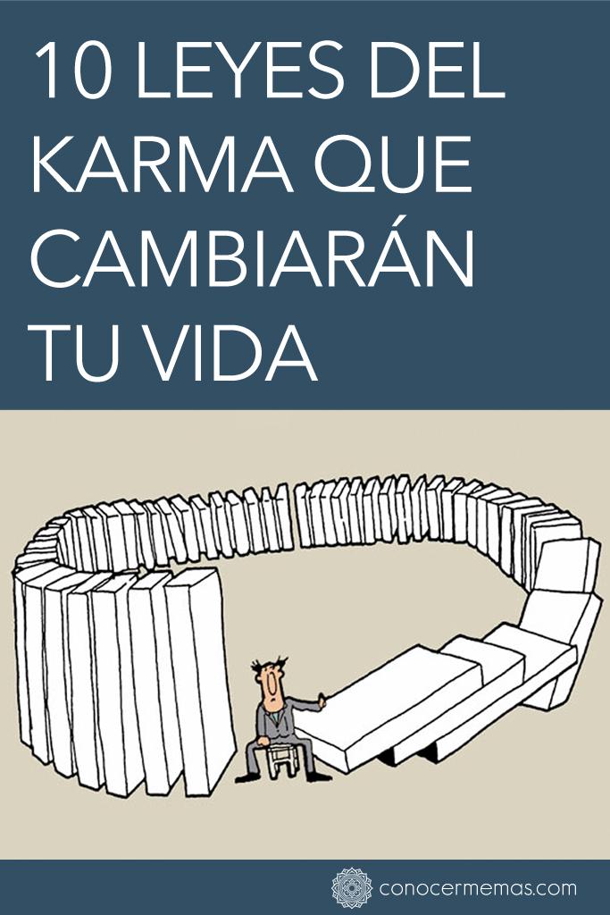 10 Leyes del karma que cambiarán tu vida