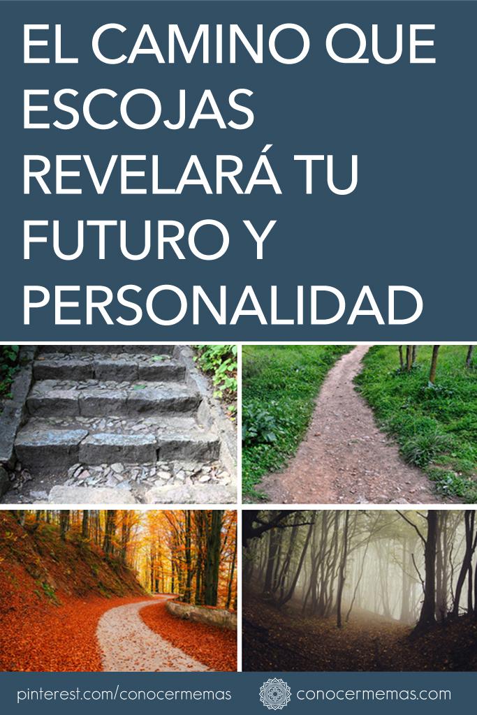 El camino que escojas revelará tu futuro y personalidad