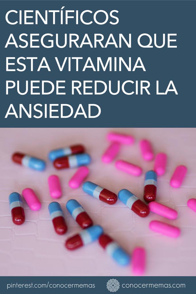 Científicos aseguraran que esta vitamina puede reducir la ansiedad