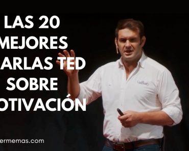 Las 20 mejores charlas TED sobre motivación