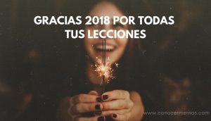 Gracias 2018 por todas tus lecciones 1