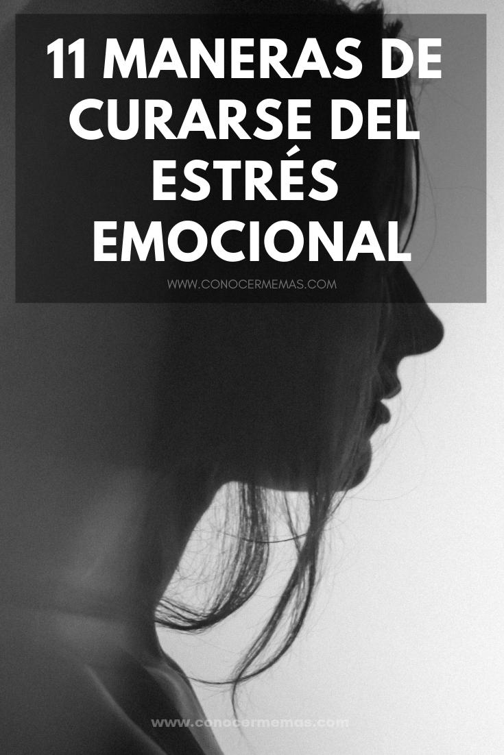 11 maneras de curarse del estrés emocional