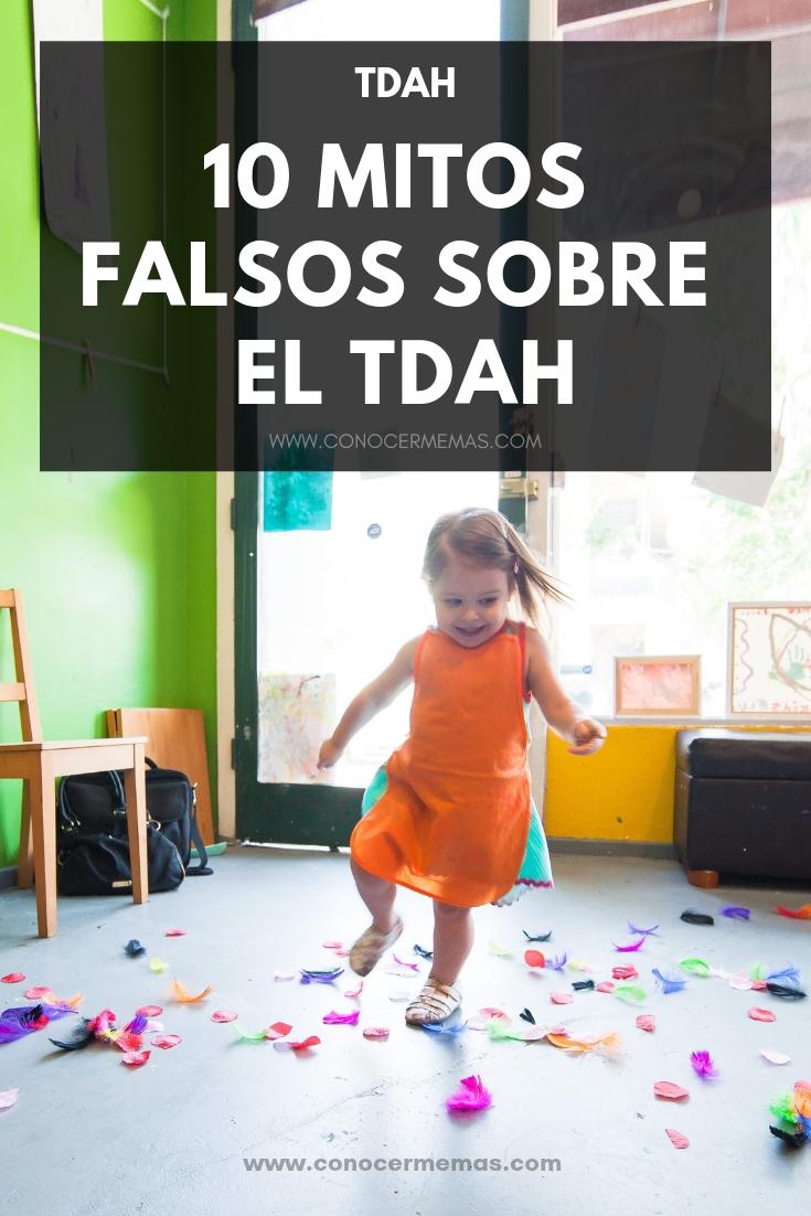 10 Mitos falsos sobre el TDAH