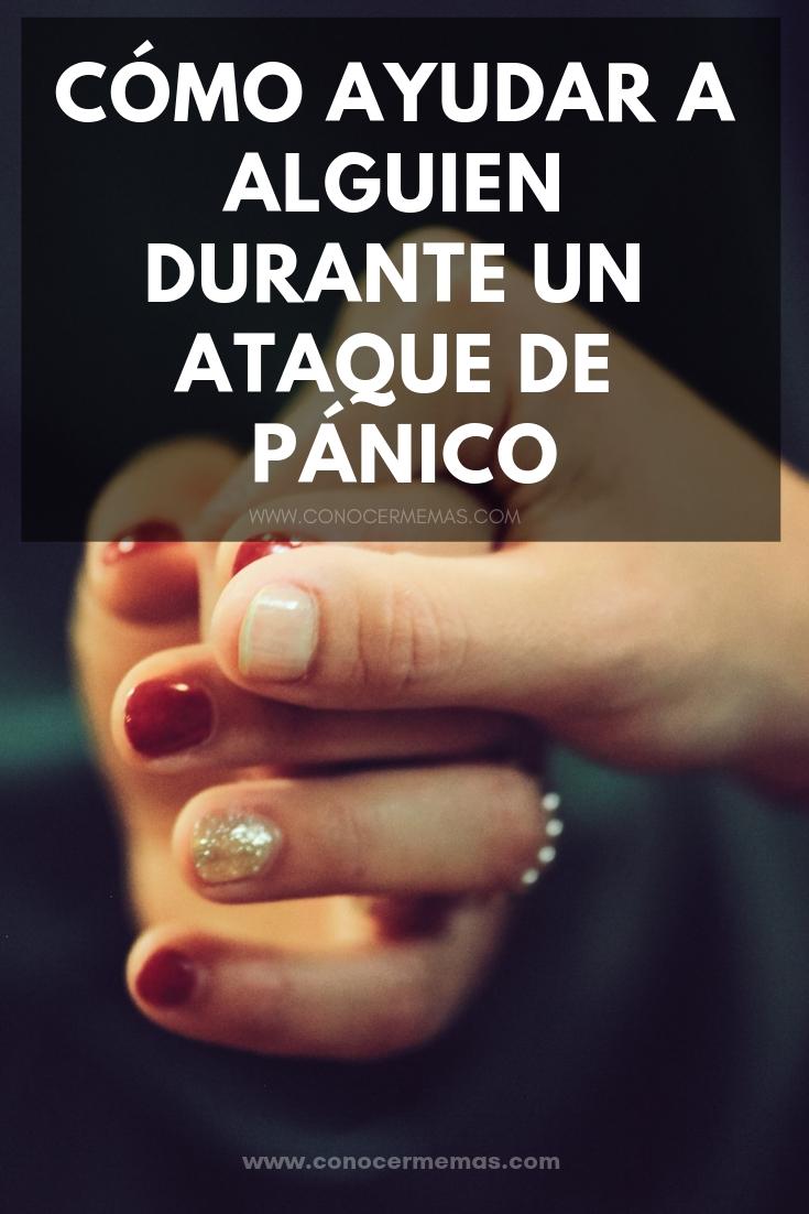 Cómo ayudar a alguien durante un ataque de pánico
