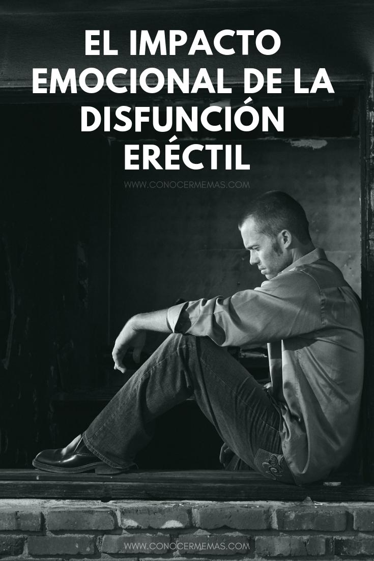 El impacto emocional de la disfunción eréctil