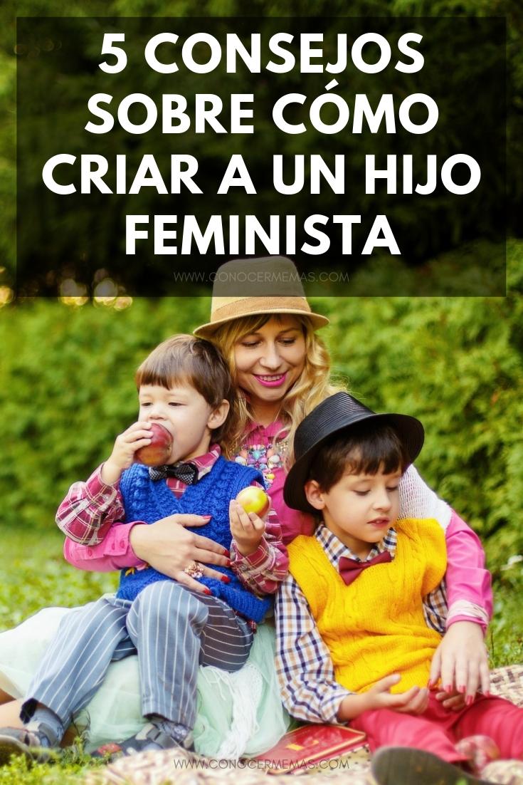 5 consejos sobre cómo criar a un hijo feminista