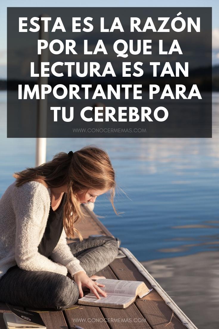 Esta es la razón por la que la lectura es tan importante para tu cerebro