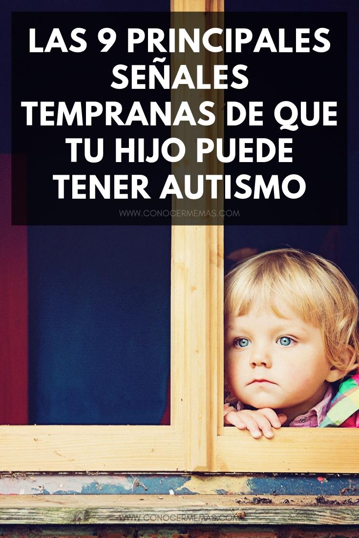 Las 9 principales señales tempranas de que tu hijo puede tener autismo