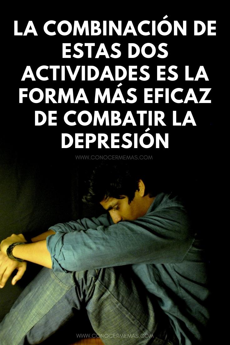 La combinación de estas dos actividades es la forma más eficaz de combatir la depresión