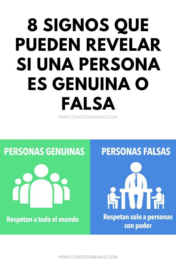 8 signos que pueden revelar si una persona es genuina o falsa