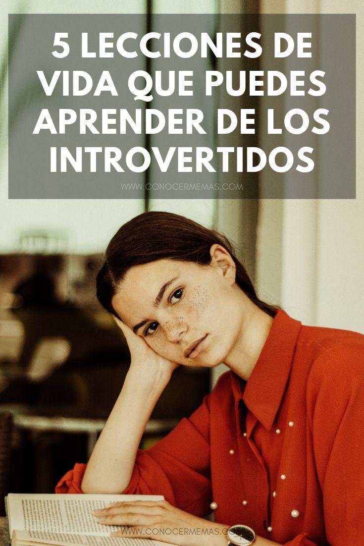 5 Lecciones de vida que puedes aprender de los introvertidos