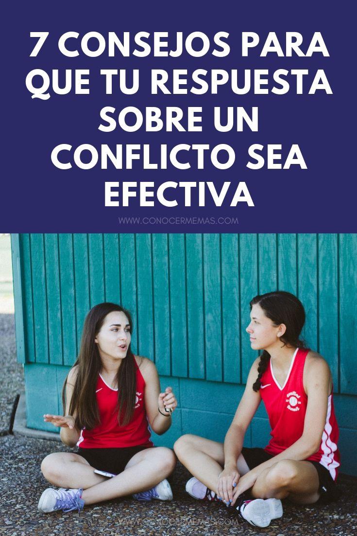 7 consejos para que tu respuesta sobre un conflicto sea efectiva