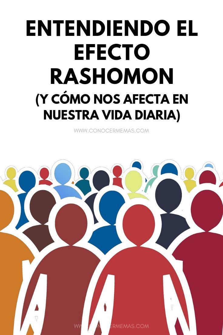 Qué es el efecto Rashomon y cómo nos afecta en nuestra vida diaria
