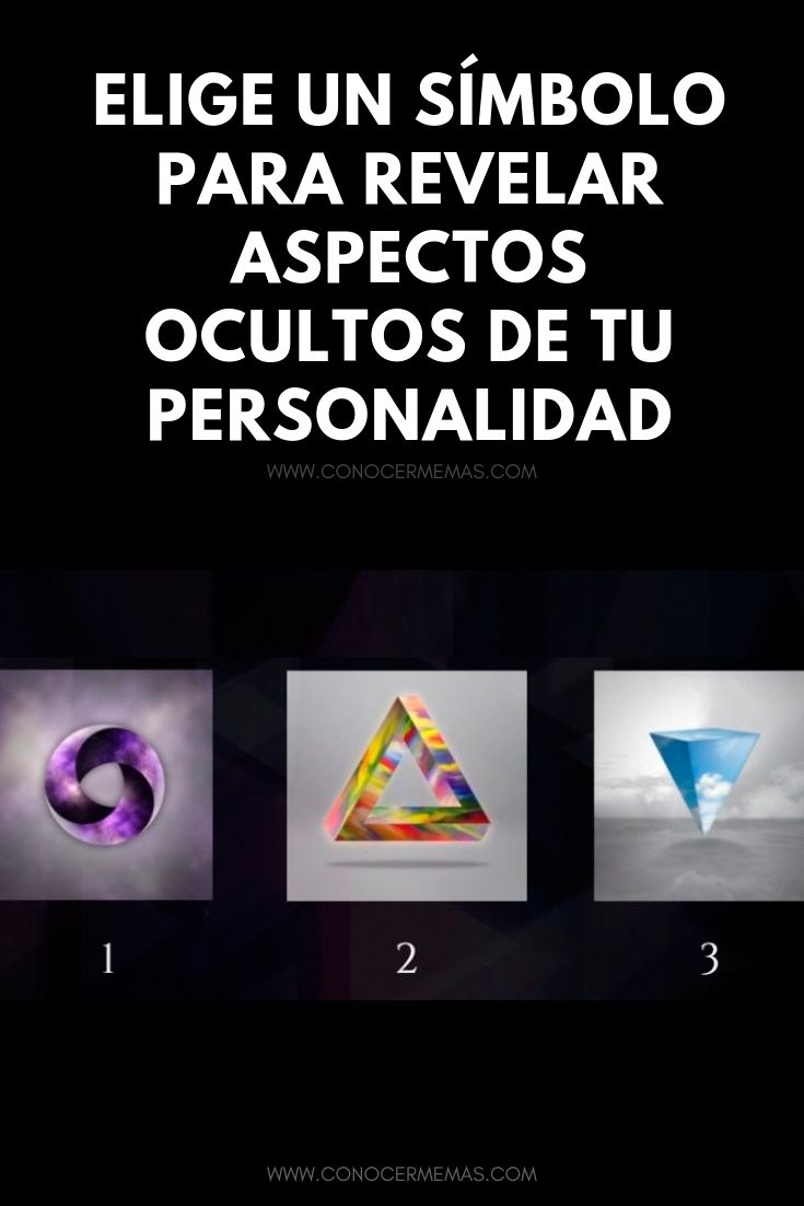 Elige un símbolo para revelar aspectos ocultos de tu personalidad