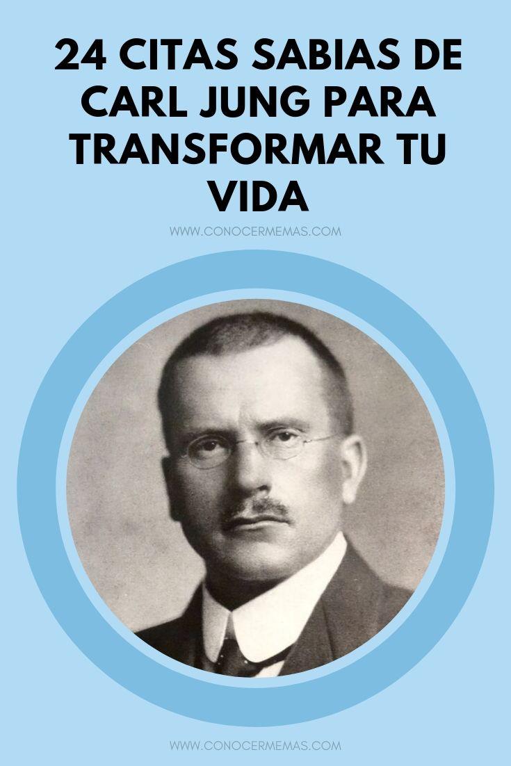 24 citas sabias de Carl Jung para transformar tu vida