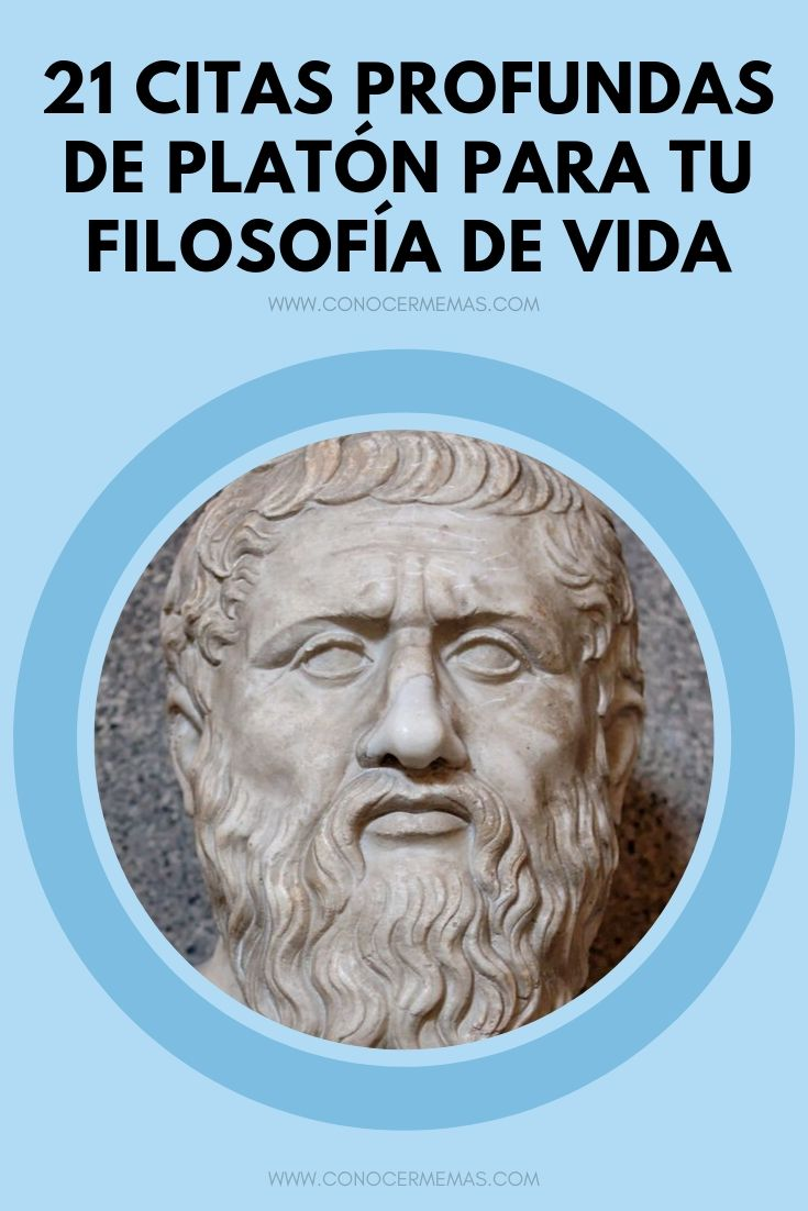 21 citas profundas de Platón para tu filosofía de vida
