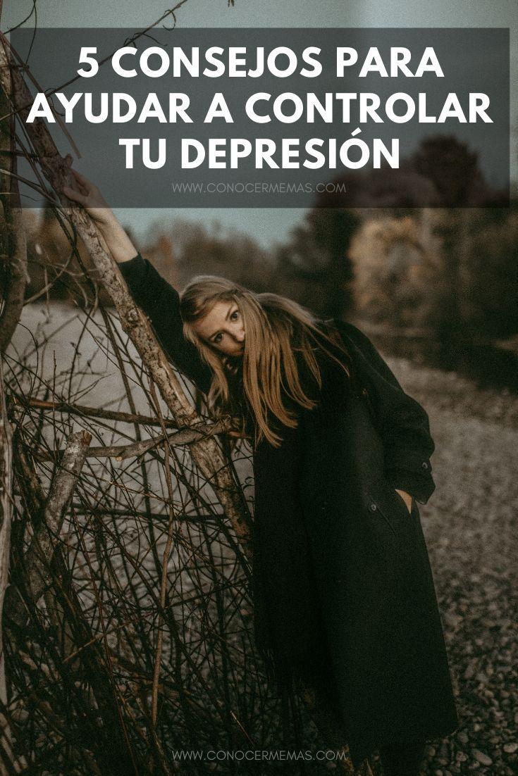 5 consejos para ayudar a controlar tu depresión