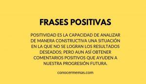 Frases positivas
