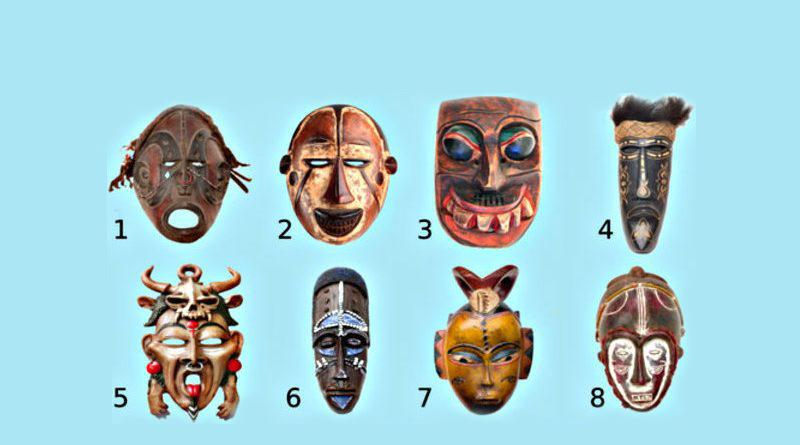 Elige una máscara espiritual tribal para revelar qué tipo de persona eres