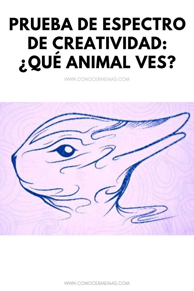 Prueba de espectro de creatividad: ¿Qué animal ves?