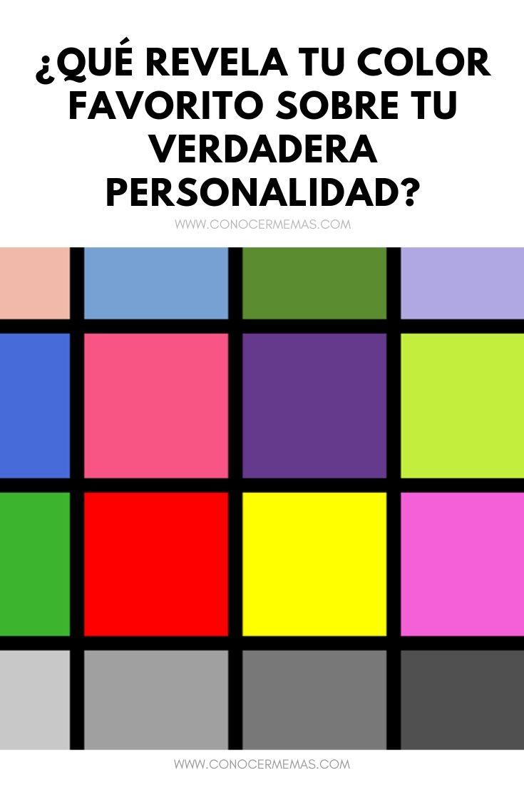 ¿Qué revela tu color favorito sobre tu verdadera personalidad?