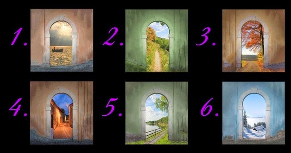 La puerta que elijas revela mucho acerca de tu futuro y de tu personalidad