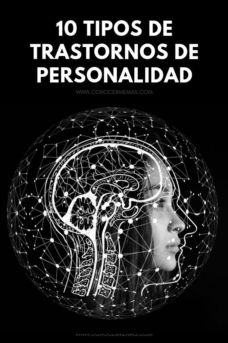 10 Tipos de trastornos de personalidad
