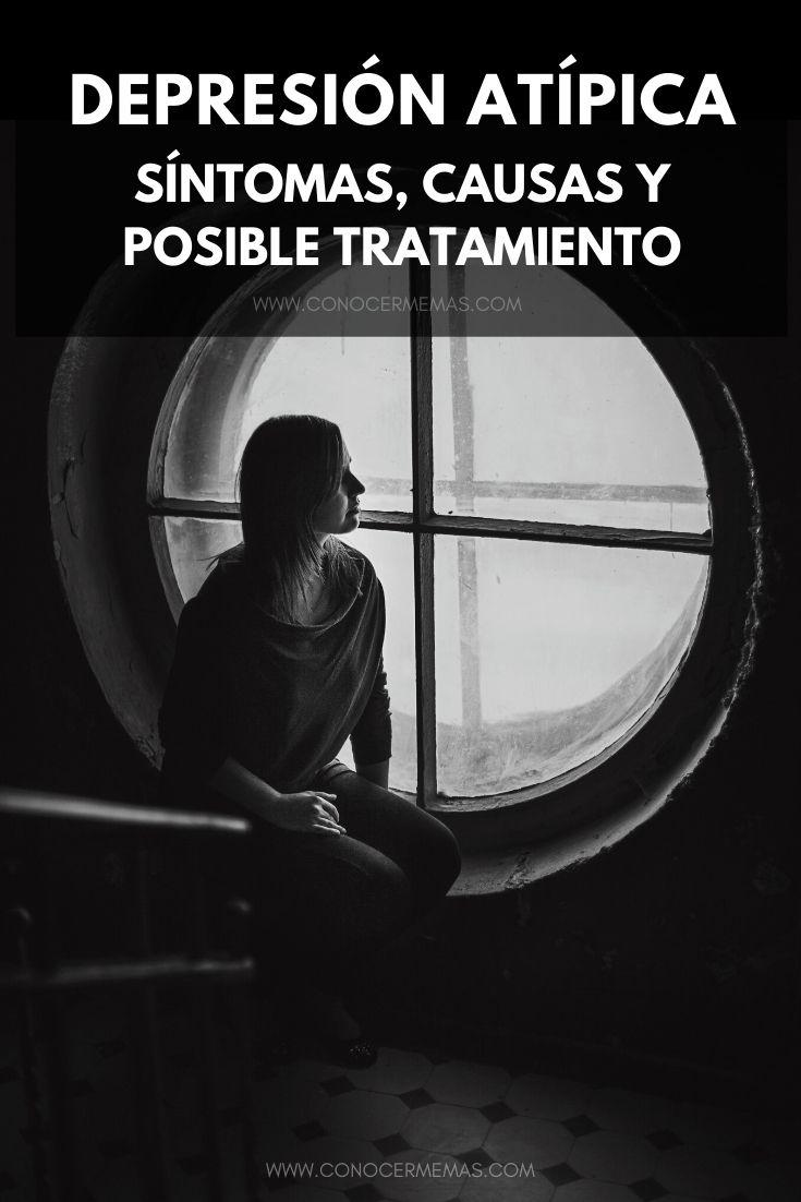 Depresión atípica: síntomas, causas y posible tratamiento