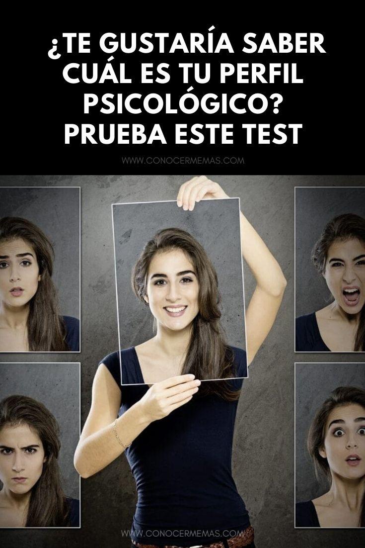 ¿Te gustaría saber cuál es tu perfil psicológico? Prueba este test