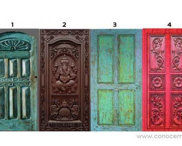 ¿Por qué puerta pasarías? Mira lo que dice sobre tu personalidad